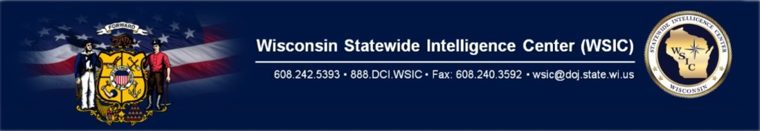 WISCONSIN STATEWIDE INFORMATION CENTER (WSIC)